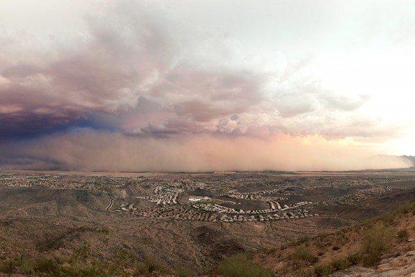 Haboob in Phoenix